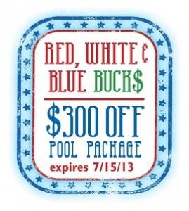 Red, White & Blue Bucks