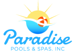 Paradise Pools and Spas Logo